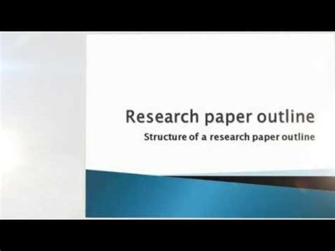 Free online research paper maker